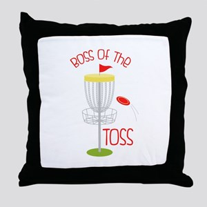Toss Boss Throw Pillow